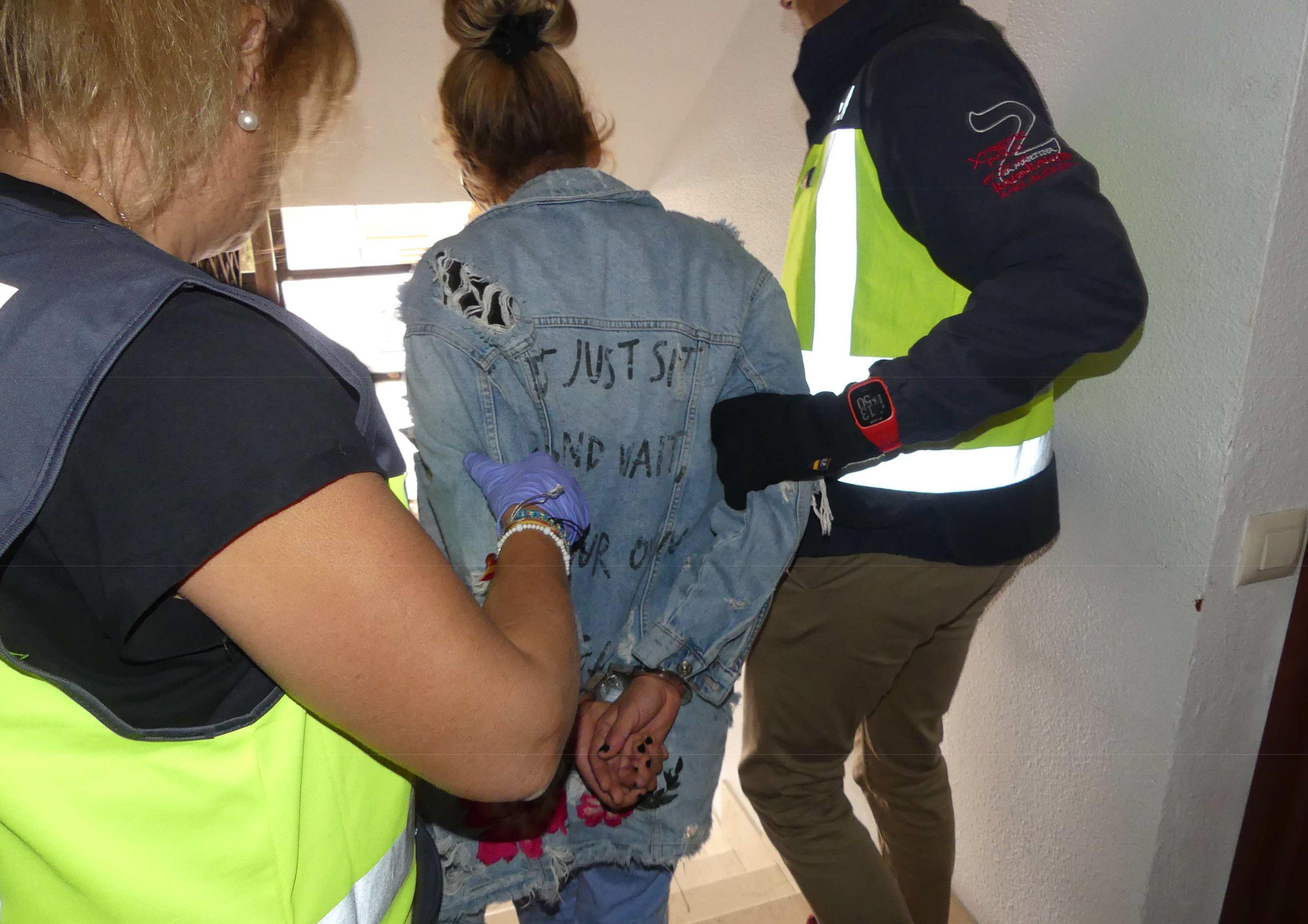 Detenido trata de ser huanos (1)