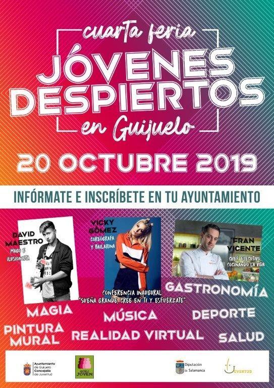 Cartel Feria Ju00f3venes Despiertos