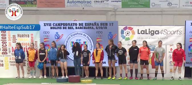 Laura   Marta campeonas sub17