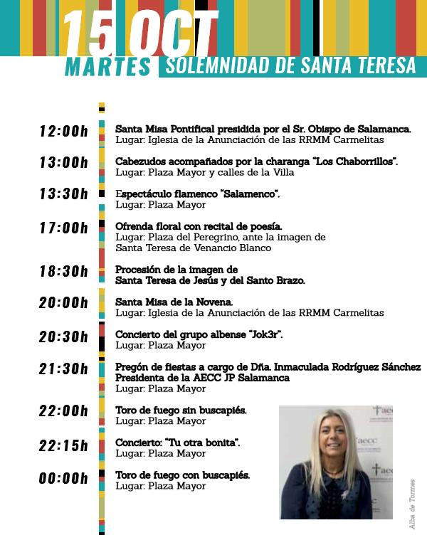 Programa 15 octubre