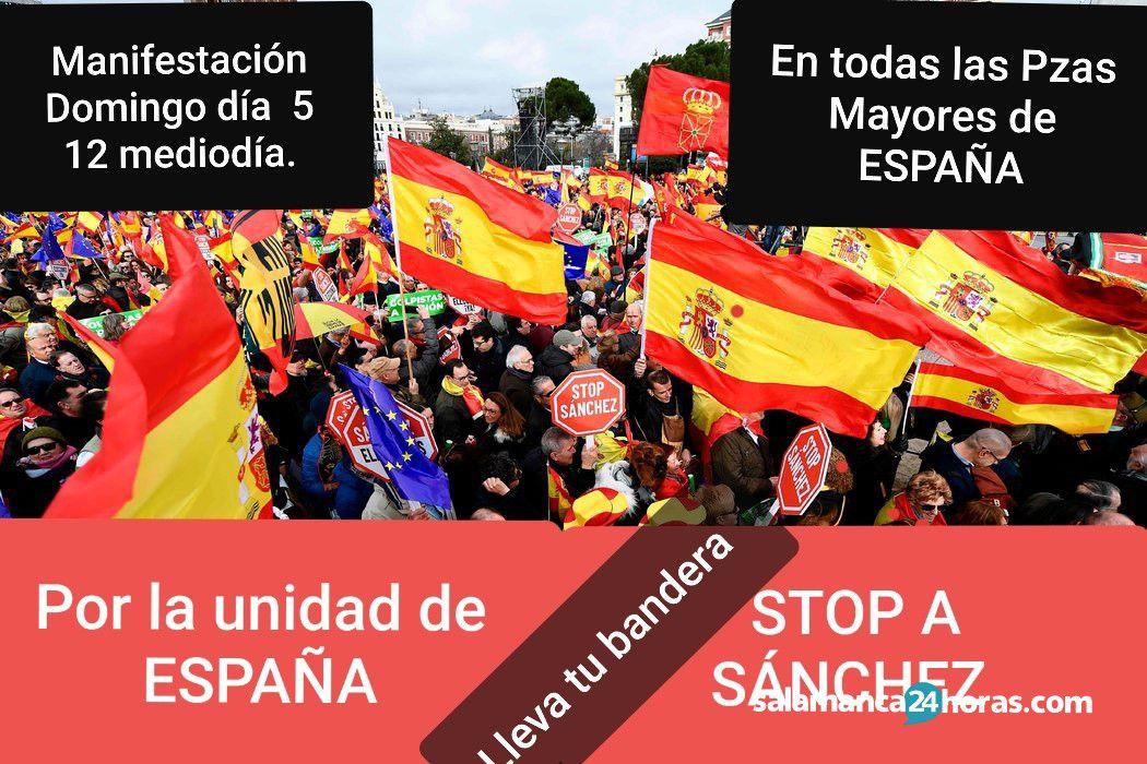 Manifestación Unidad de ESpaña (1)