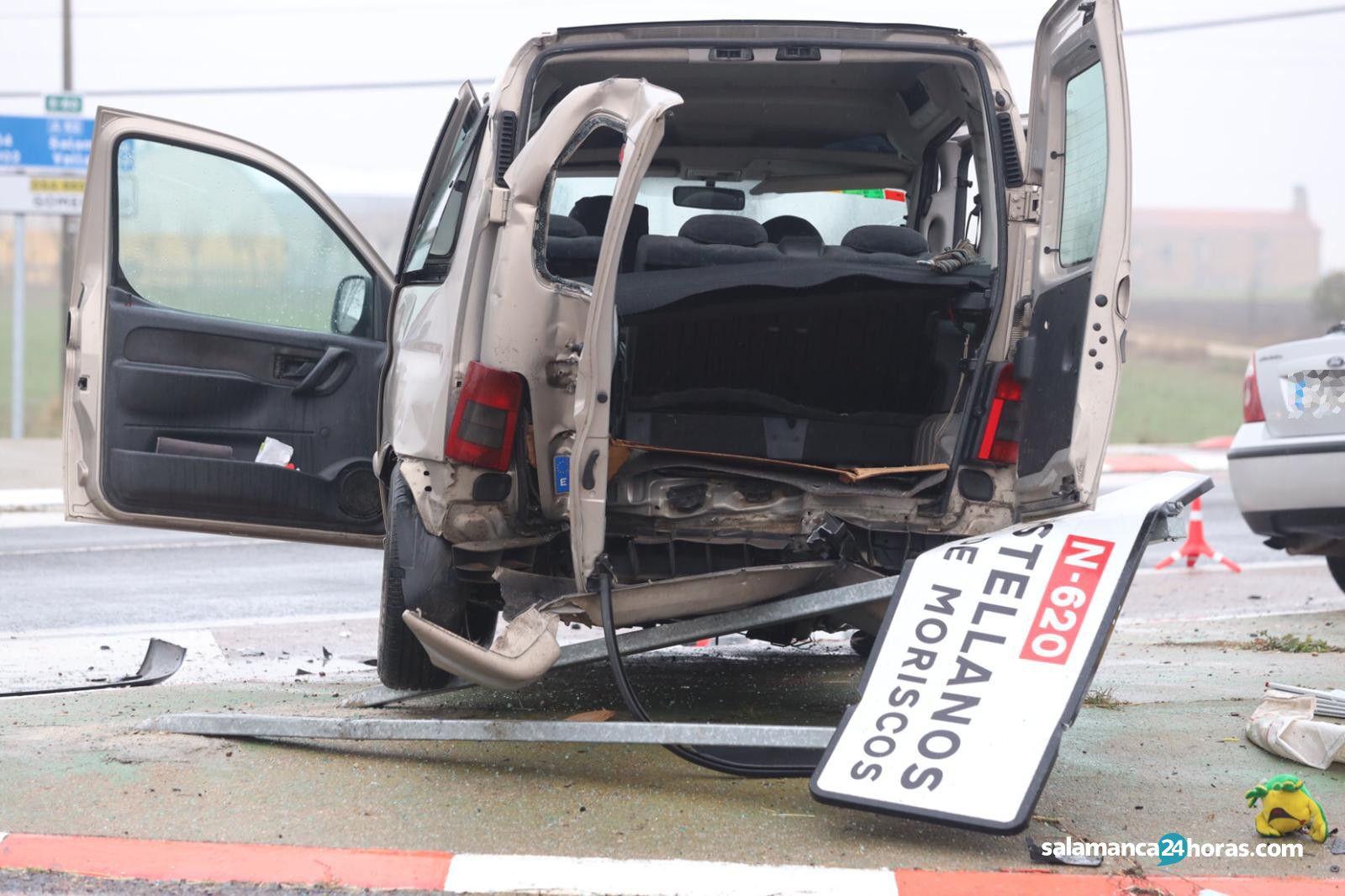 Accidente Pedrosillo El Ralo (1)