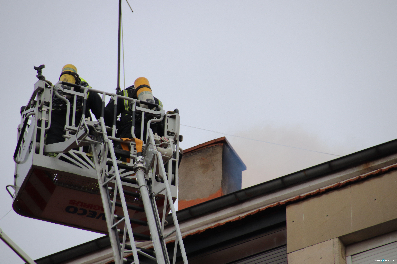 Incendio en avenida de Portugal (8)