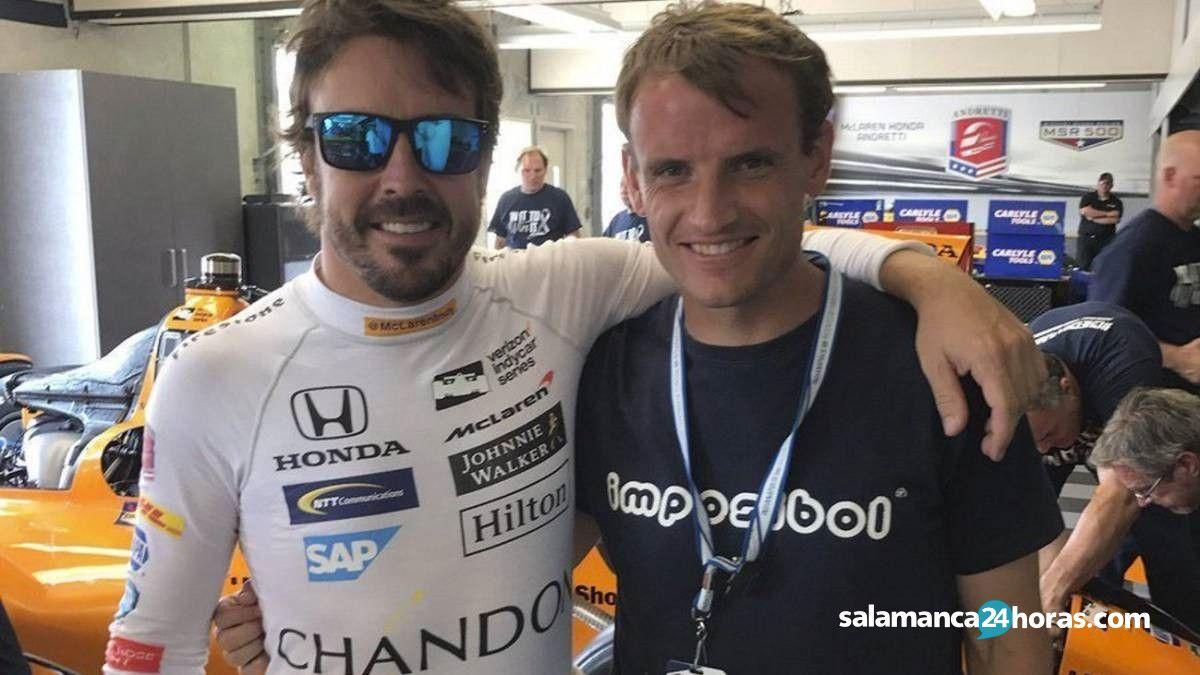 Antonio García Fernando Alonso 2