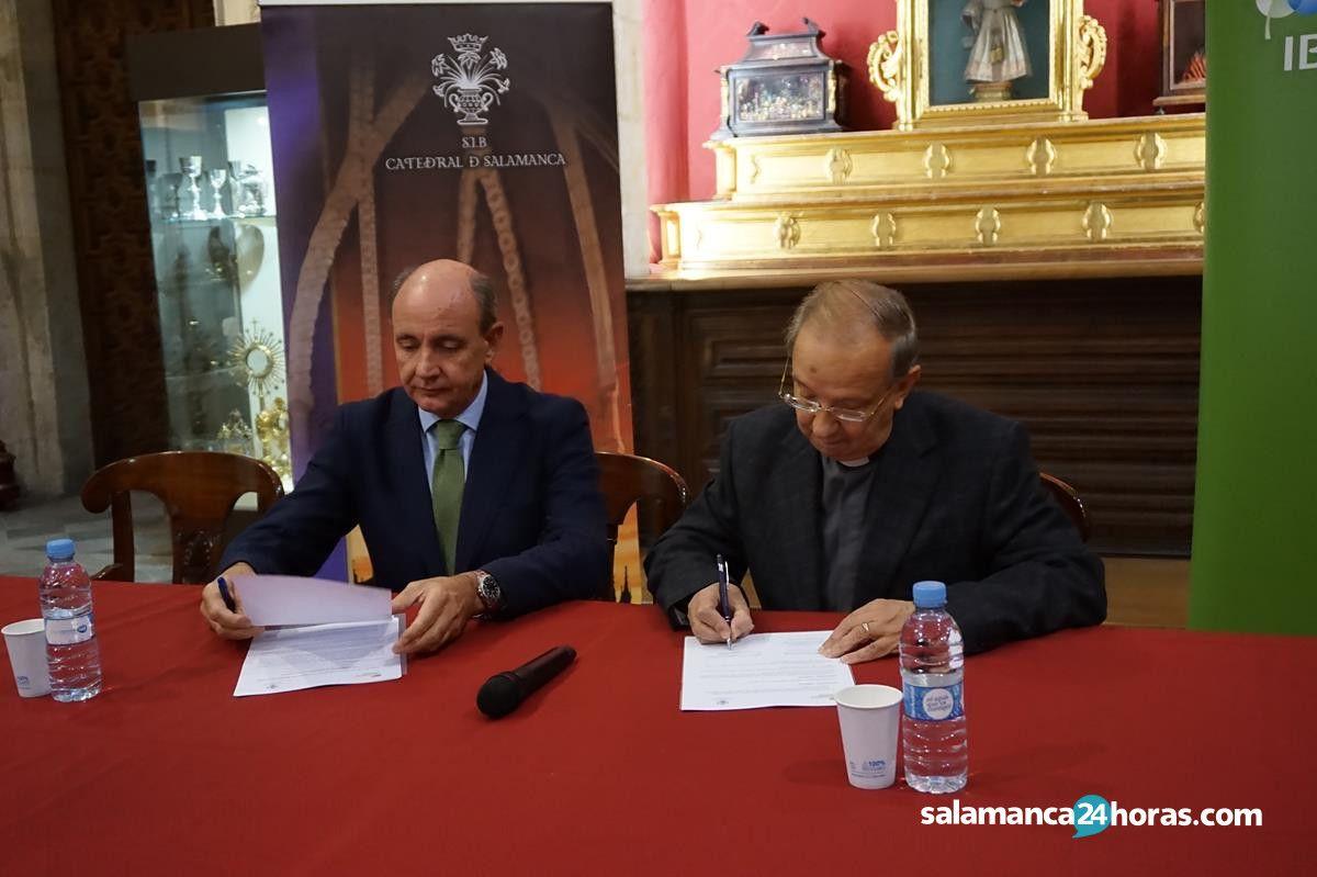 Firma acuerdo Iberdrola con catedral