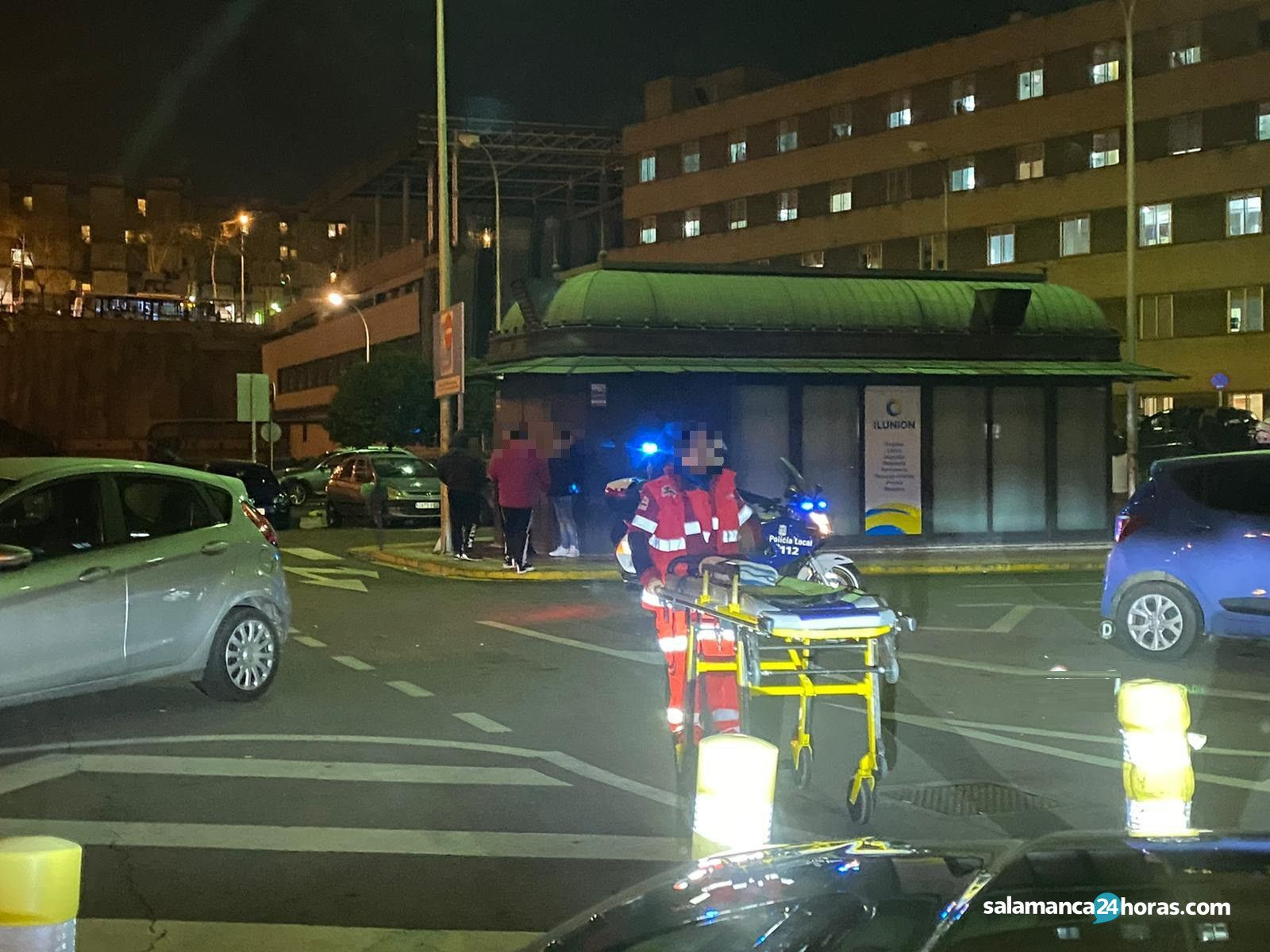 Incidente hospital policía (5)