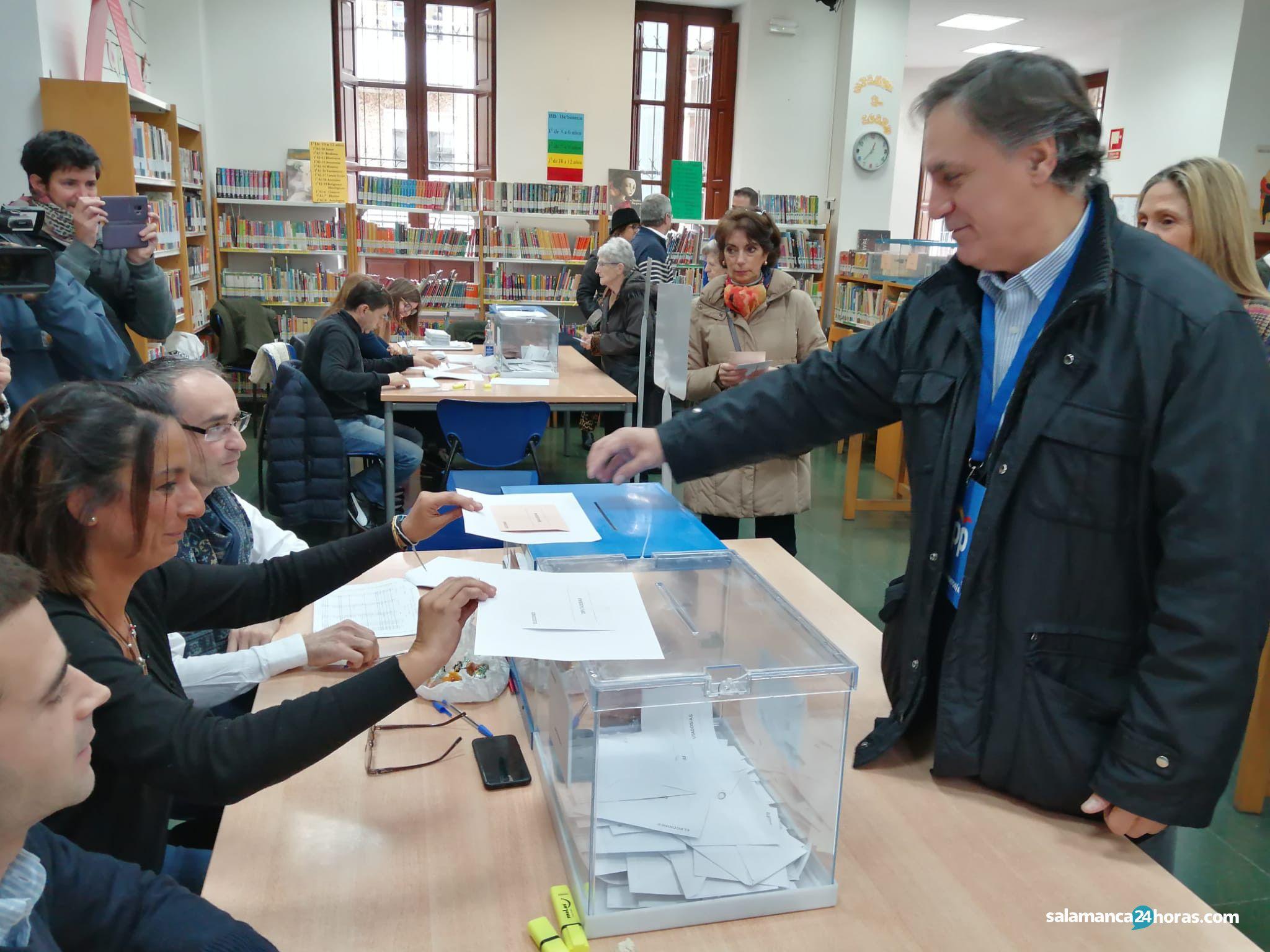 Votación carlos garcía carbayo