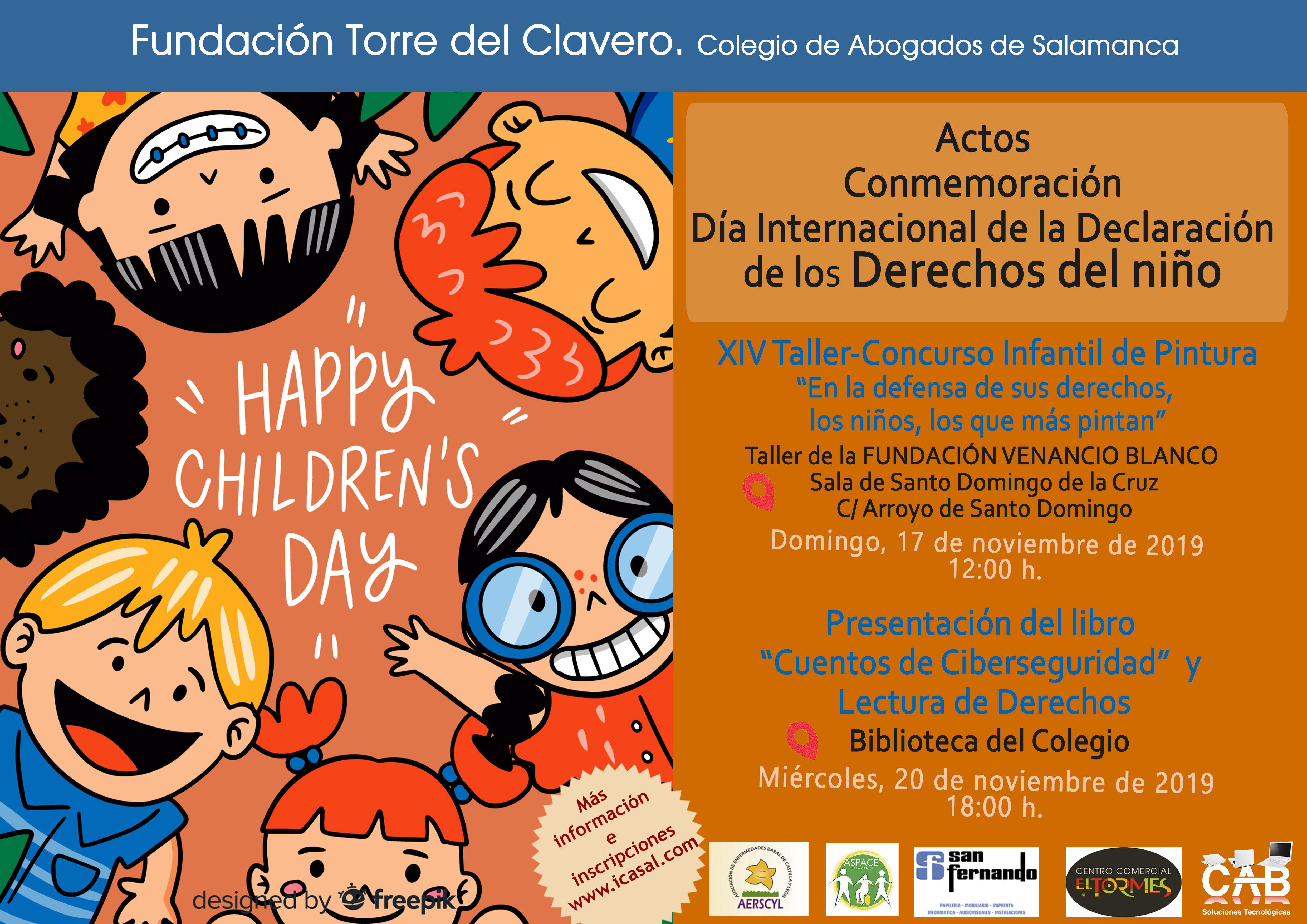 El Colegio de Abogados organiza varios actos por el Día Internacional de la Declaración de los Derechos del niño - Salamanca 24 Horas