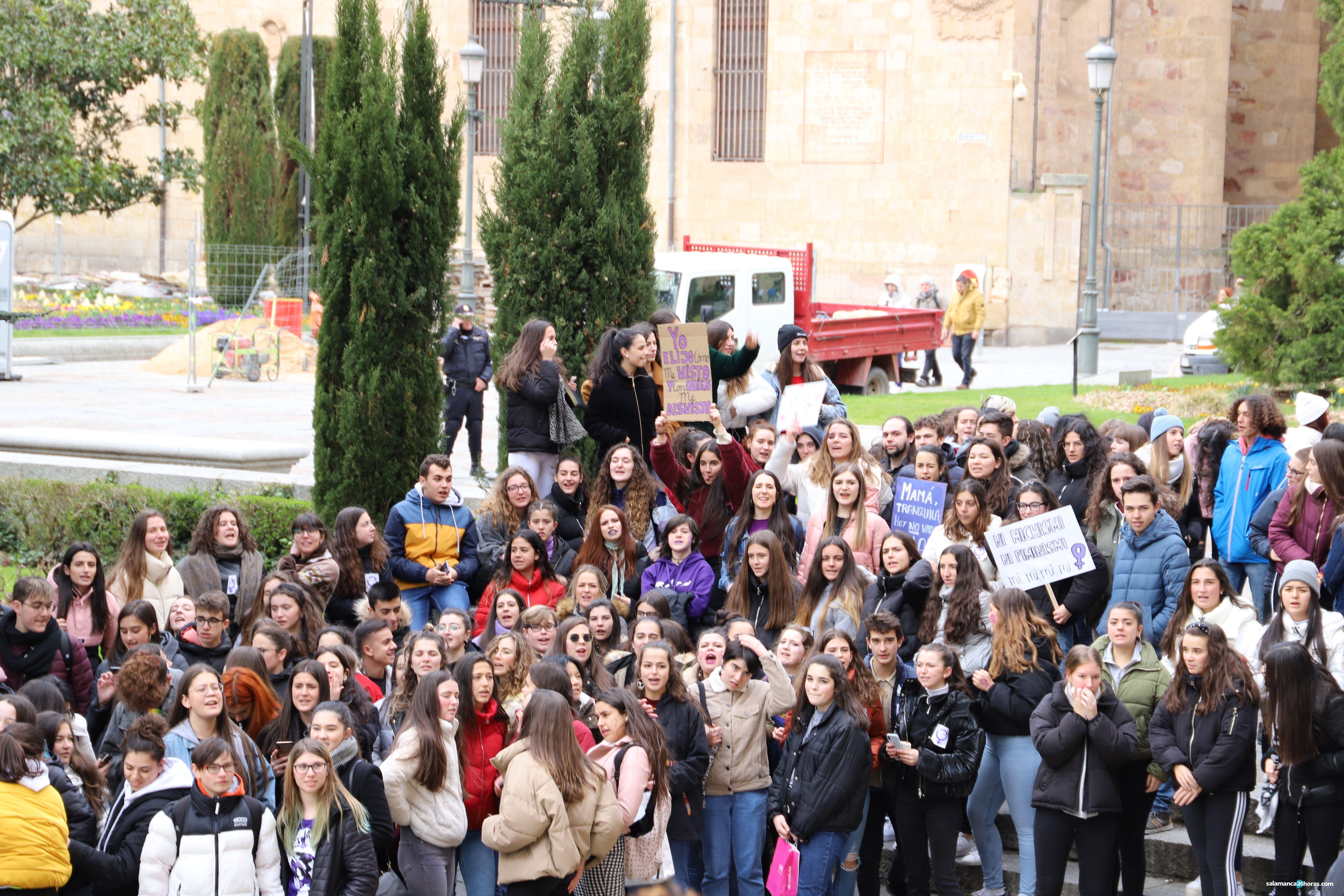 Huelga de Estudiantes Feminista Antirracista y Antifascista 104