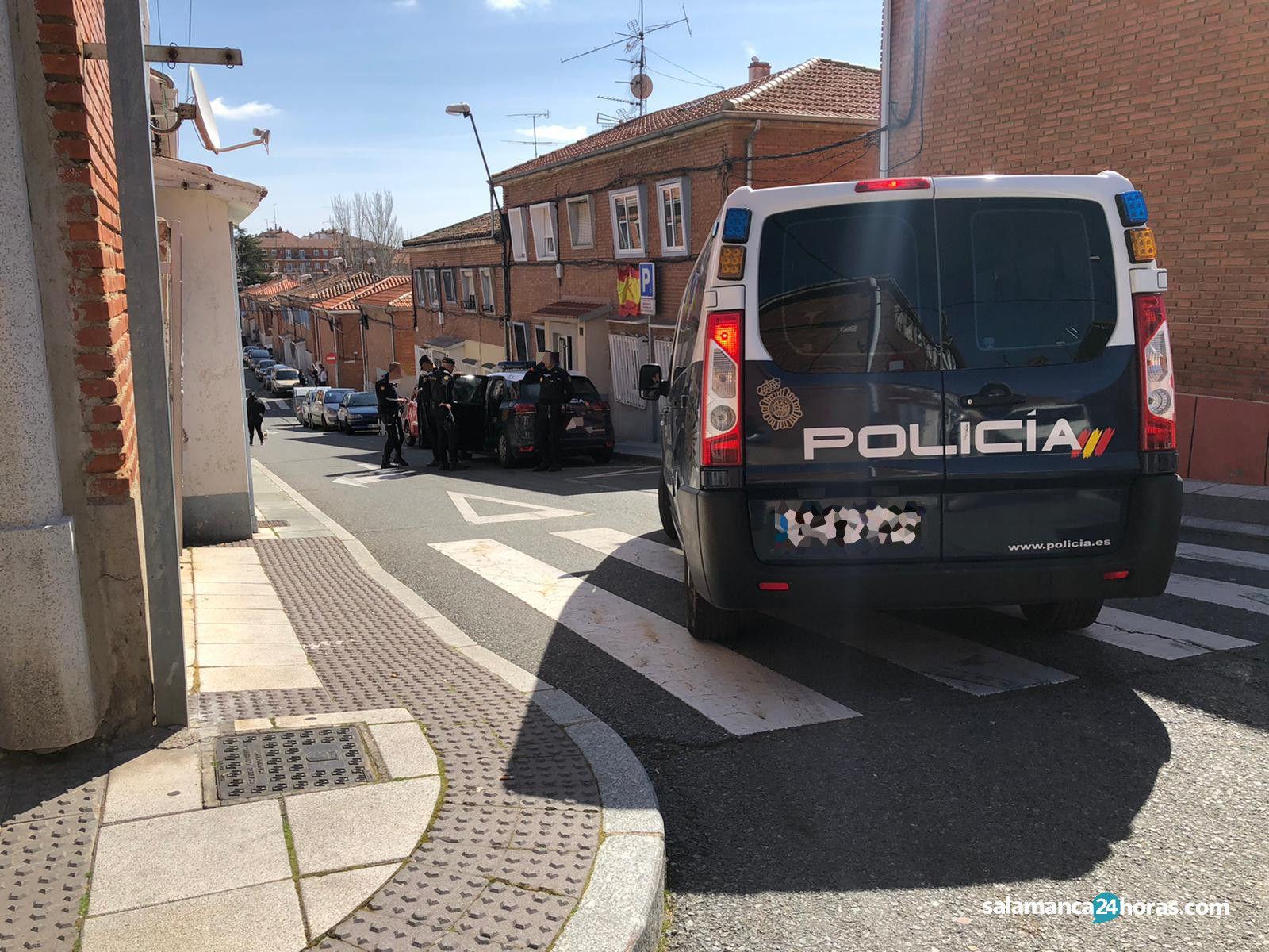 Intervención Policía Policia en Pizarrales (9)