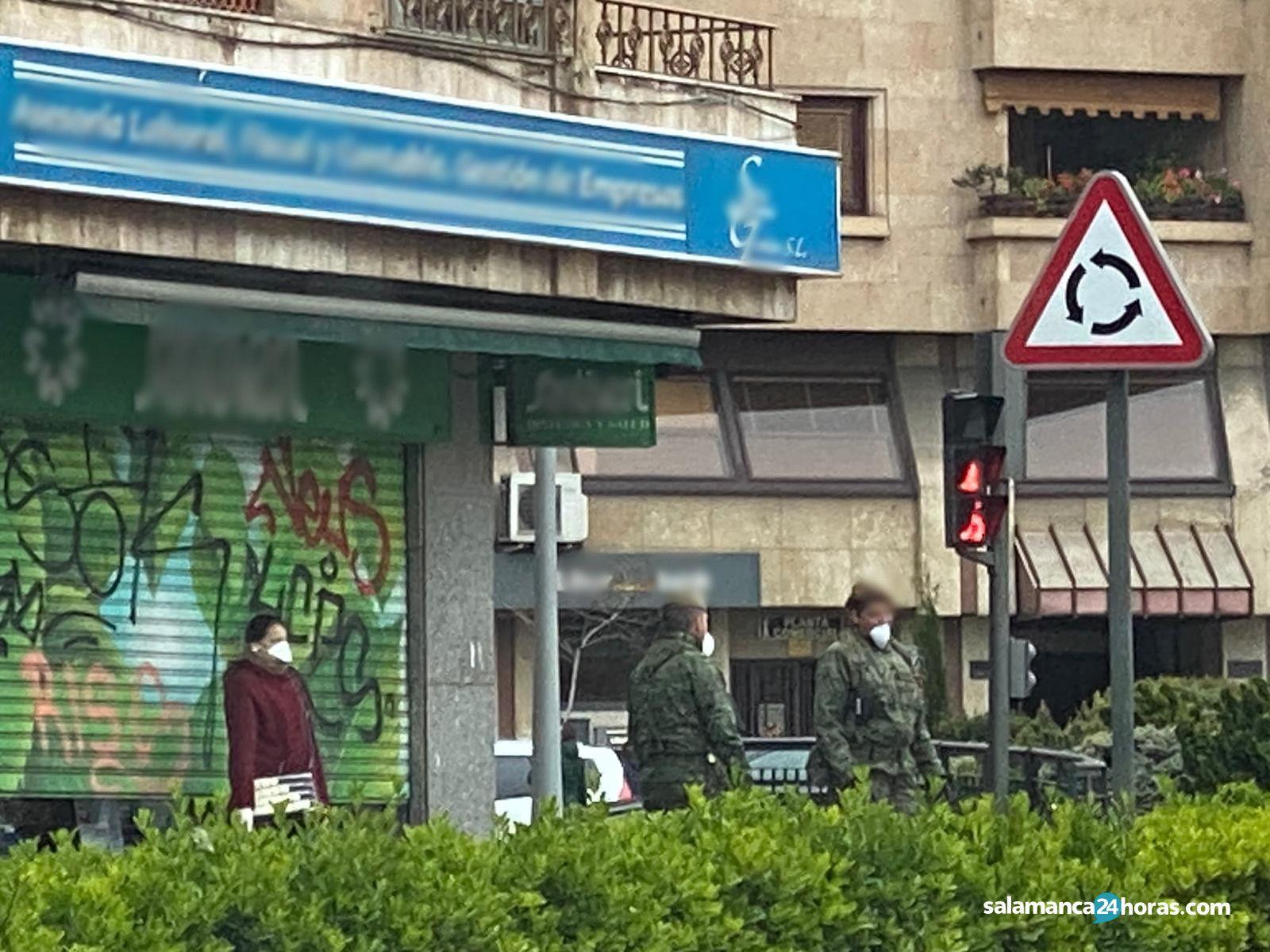 Militares por las calles (4)