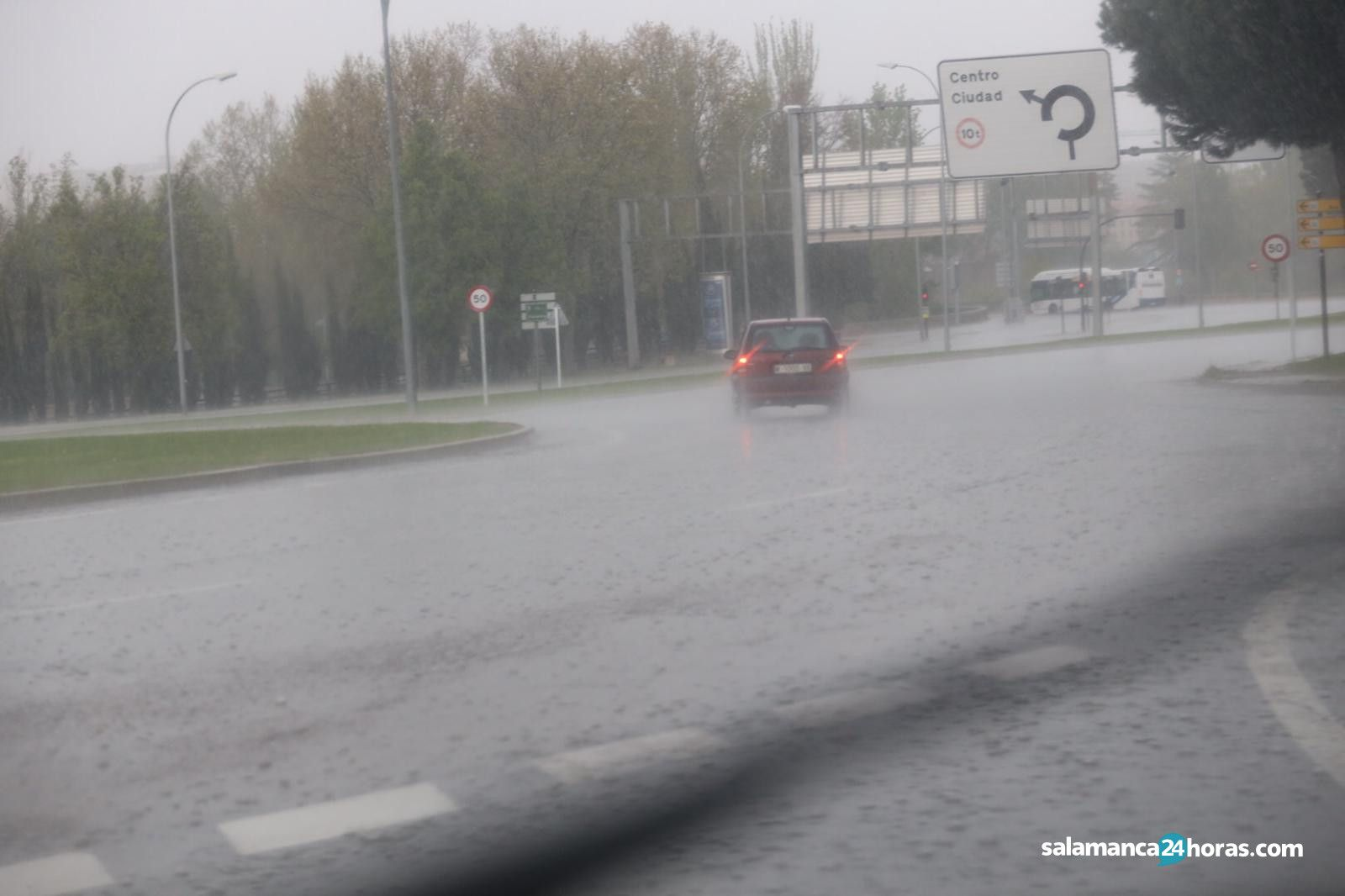 Lluvia en Salamanca (4)