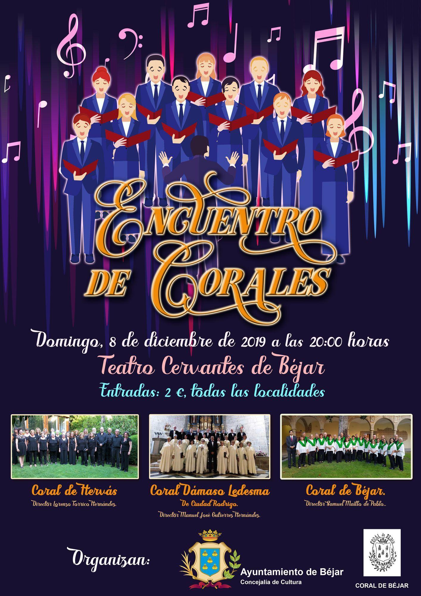 CARTEL ENCUENTRO DE CORALES 2019