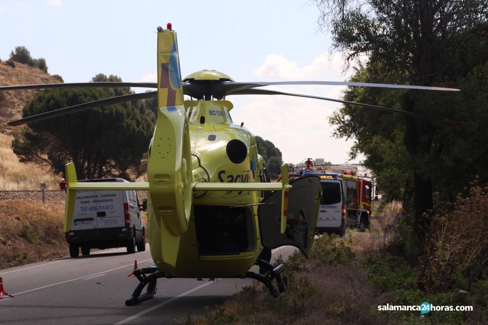 Accidente carretera de aldealengua Cabrerizos (4)