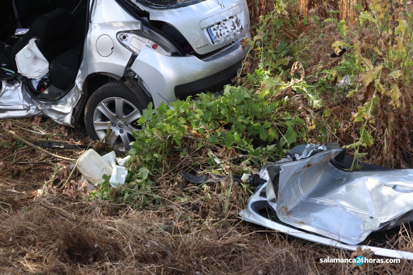 Accidente carretera de aldealengua Cabrerizos (5)