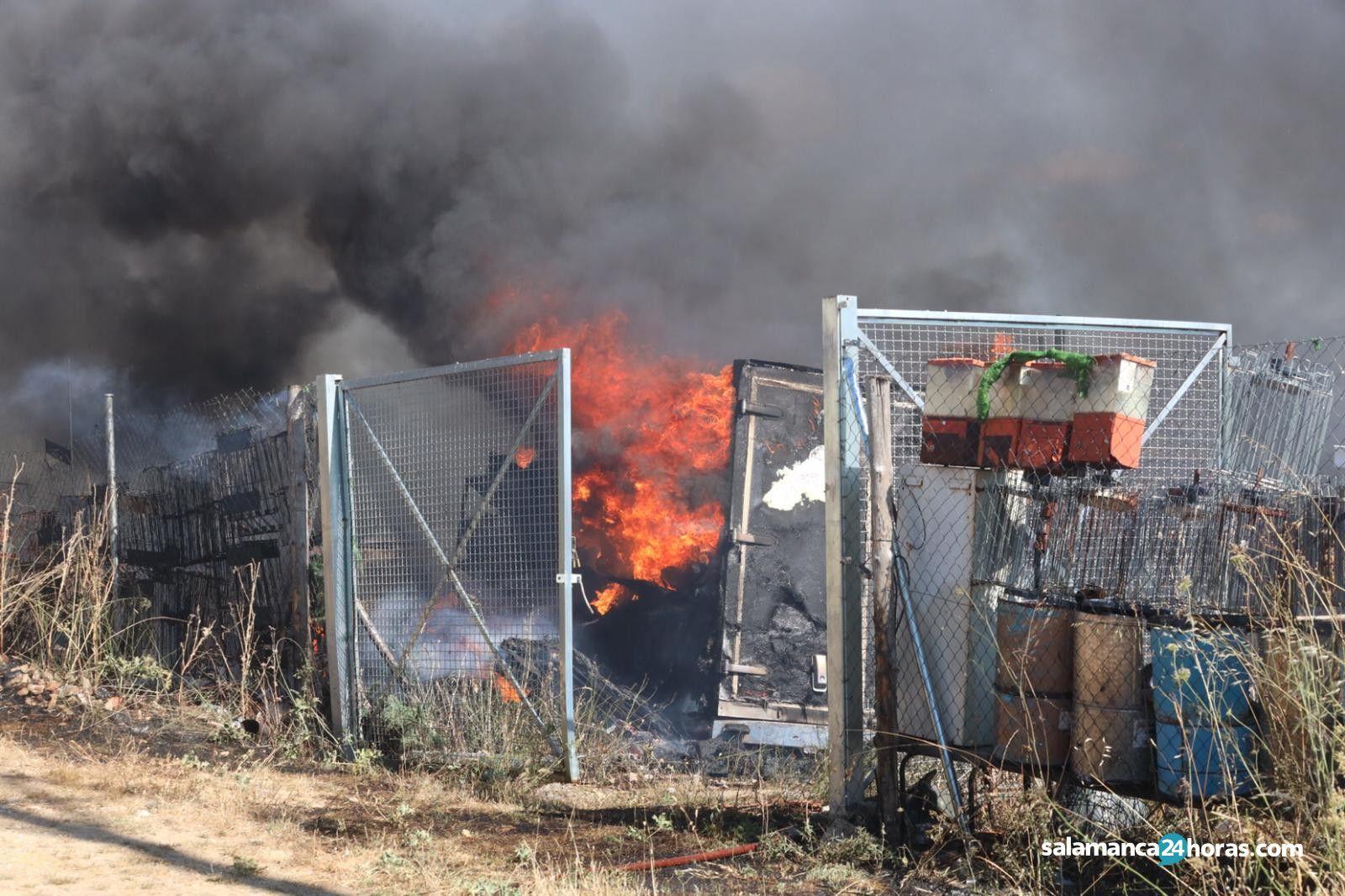Incendio Calvarrasa de Arriba (12)