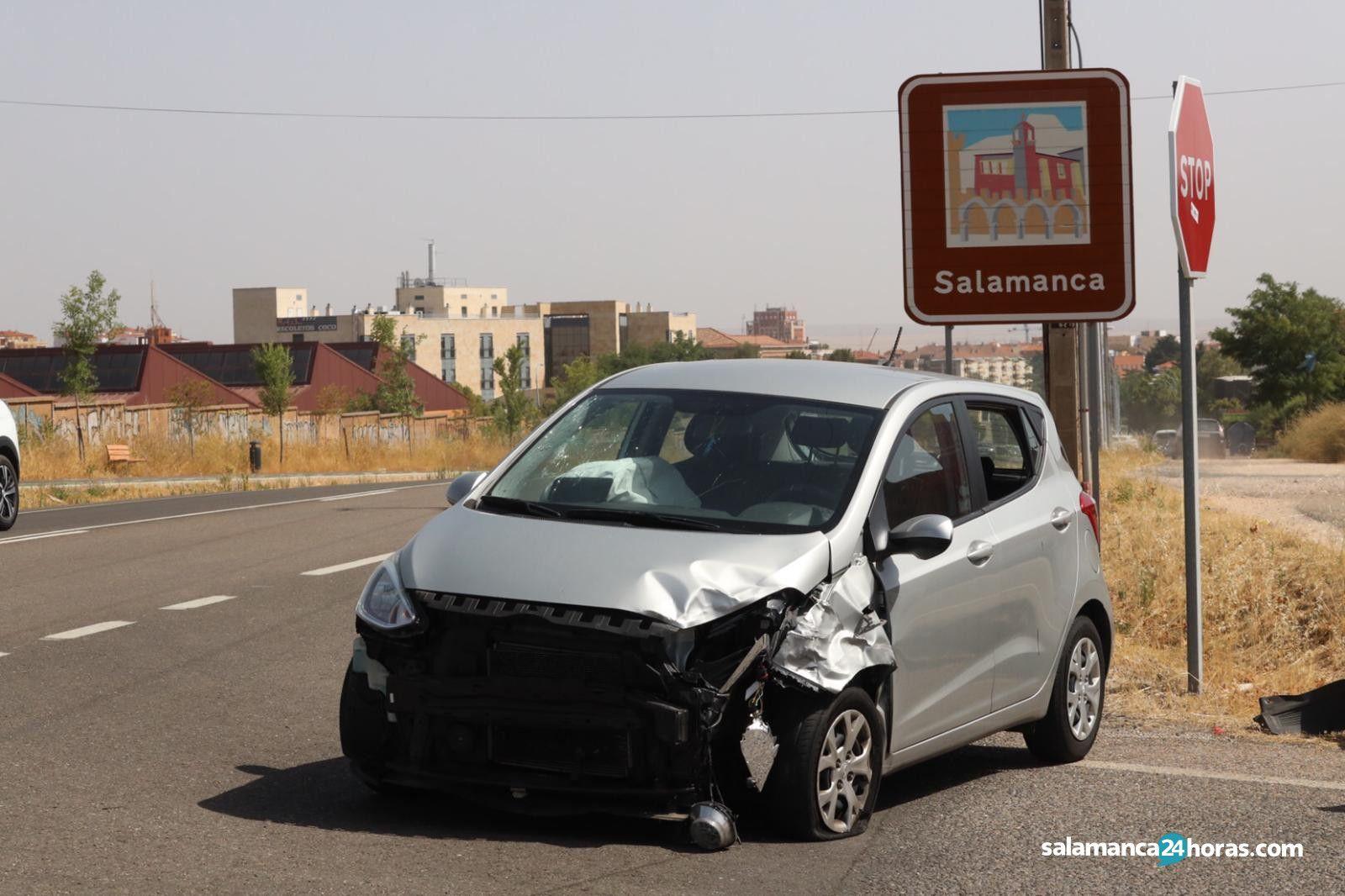 Accidente en la carretera Zamora 2