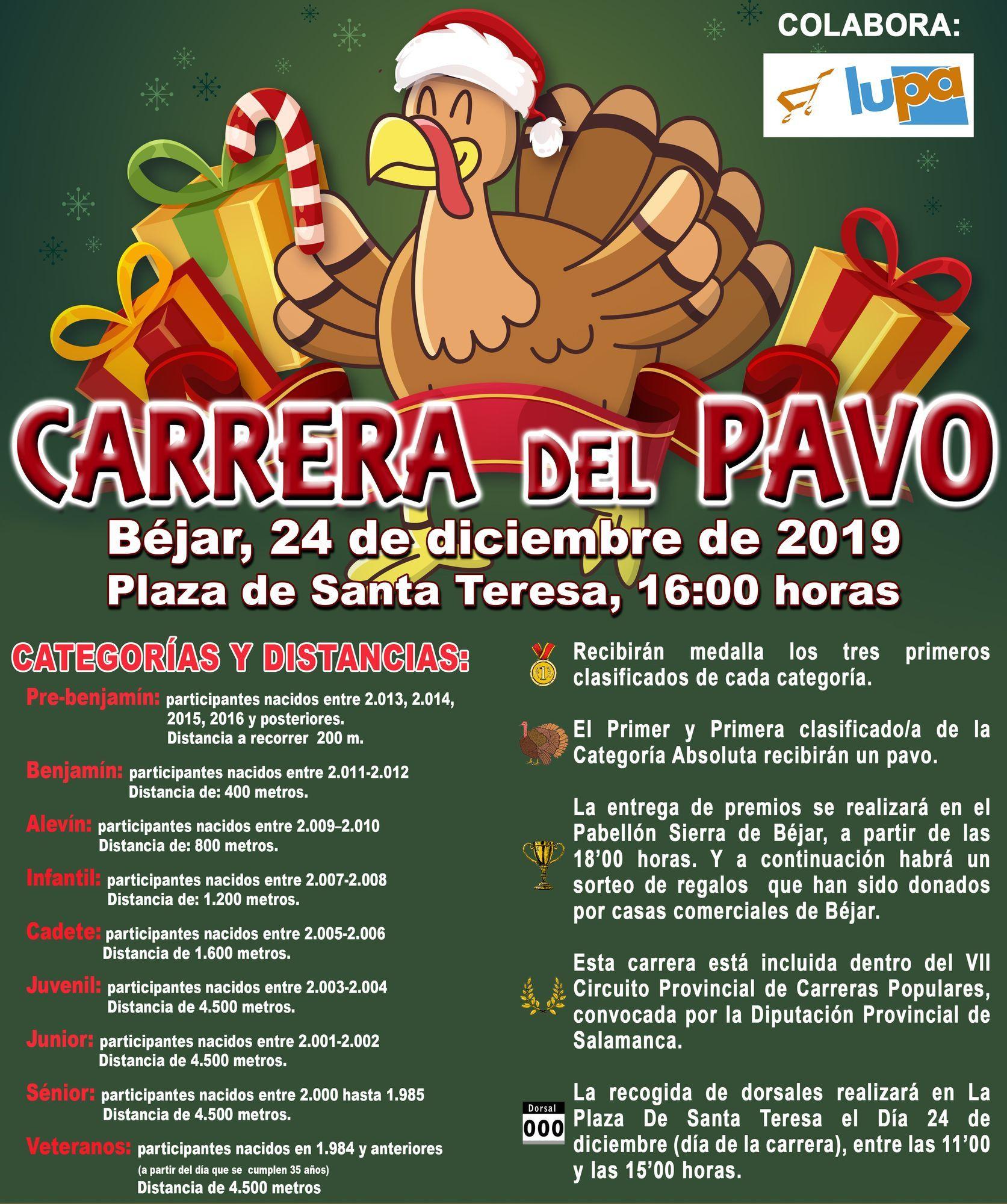 CARTEL CARRERA DEL PAVO 2019