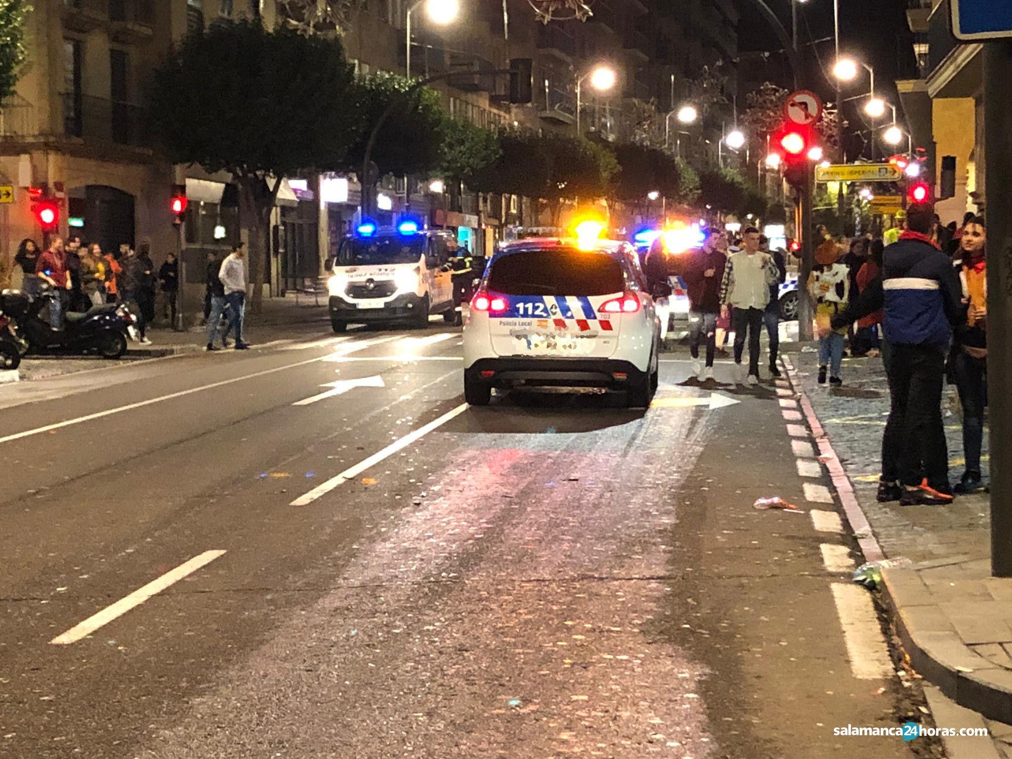 Policía Local en Gran Vía (1)