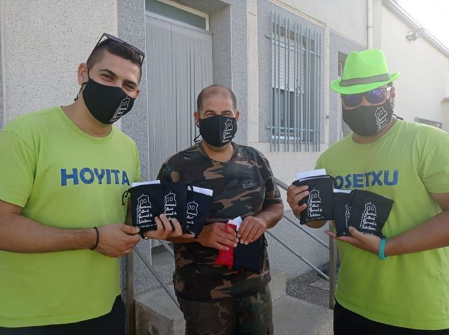 Reparto Mascarillas Berrocal de Salvatierra