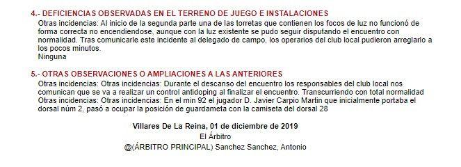 Acta Salamanca CF UDS   Calahorra