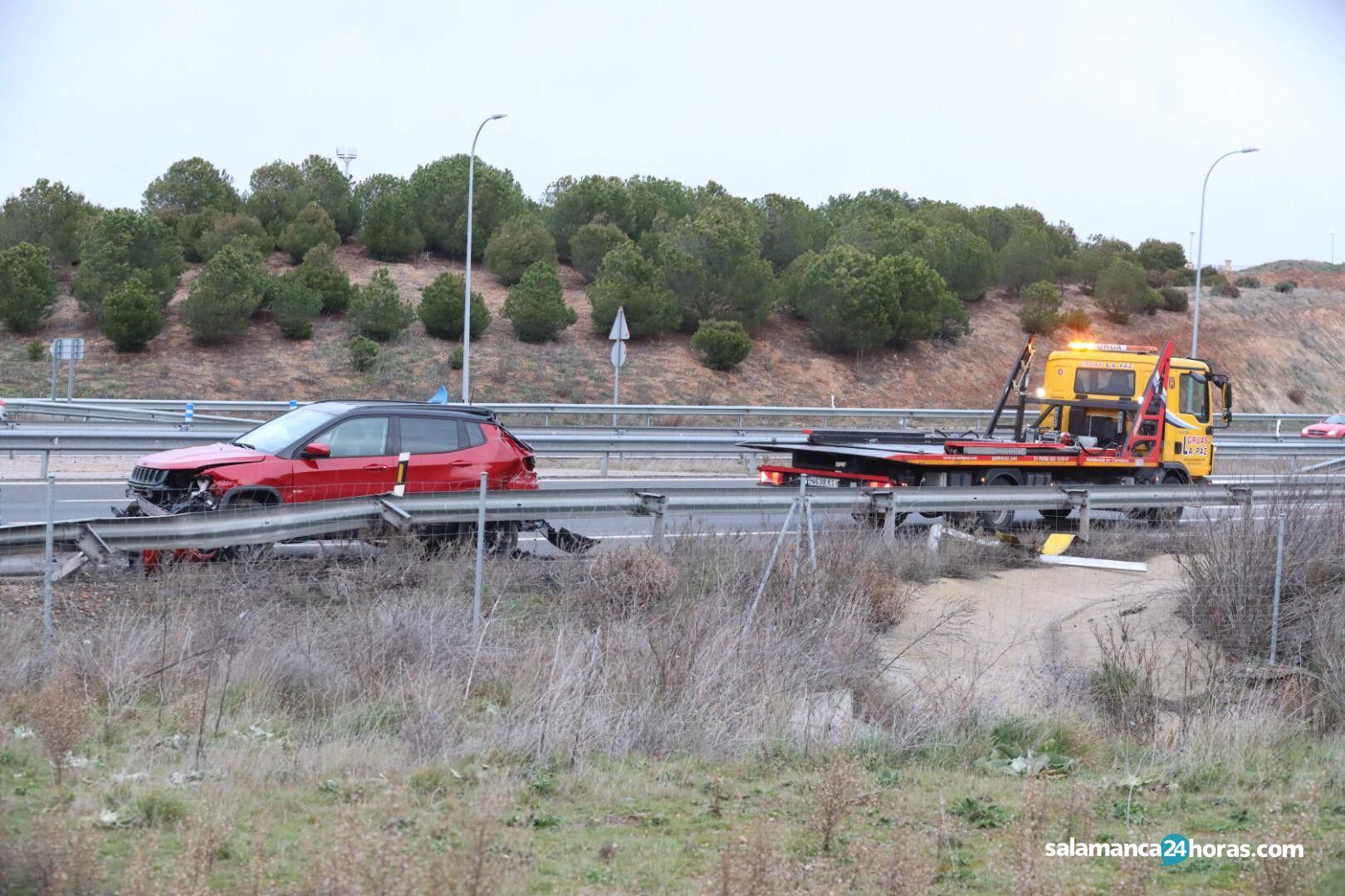 Accidente Villamayor autovía 3