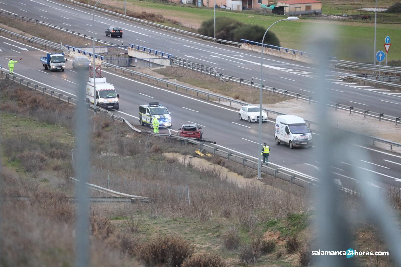 Accidente Villamayor autovía 2