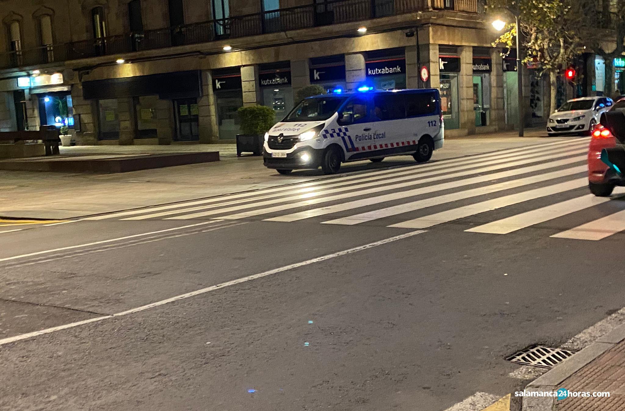 Policía Local gran vía 1