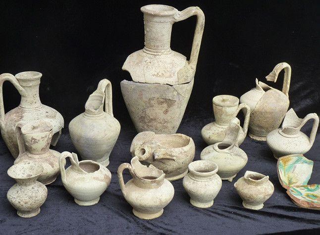 Ceramica recuperanda en el horno 1