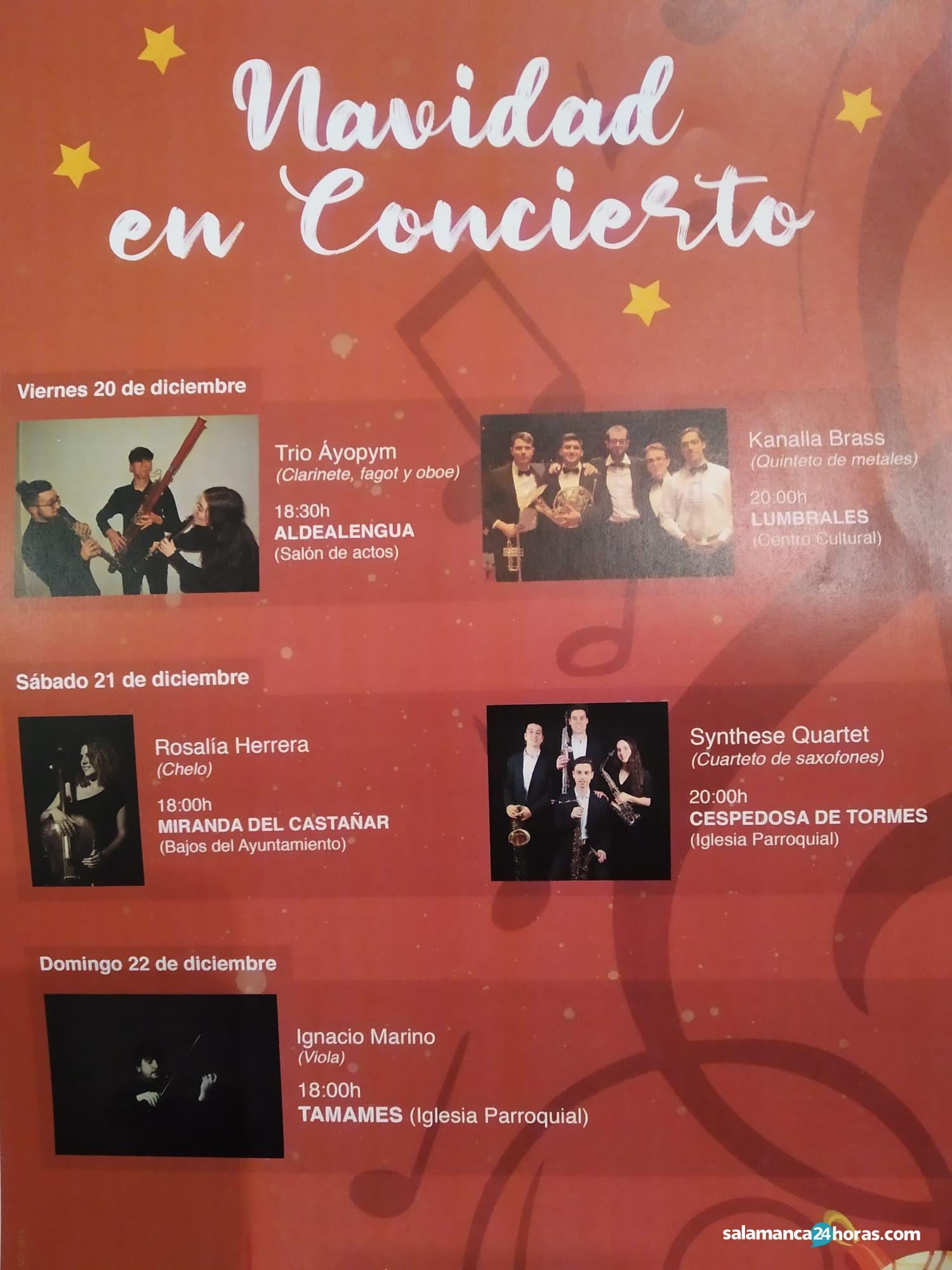 Navidad en concierto