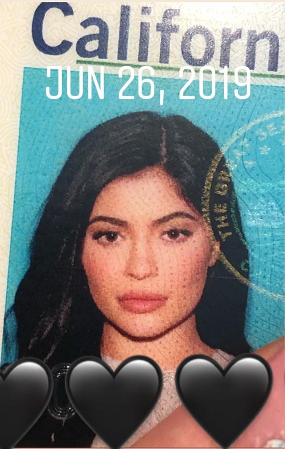 Kylie jenner dni