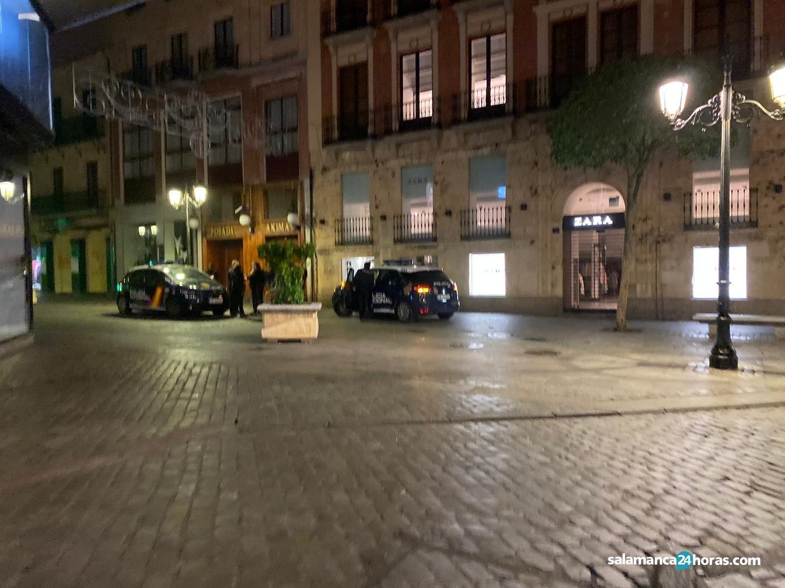 Policía Plaza Mayor 2