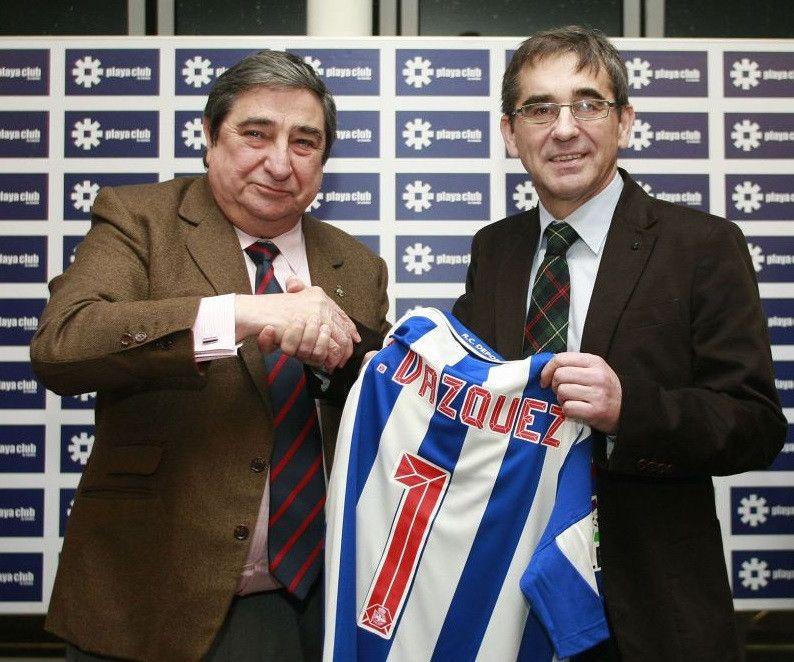 Lendoiro y Fernando Vu00e1zquez