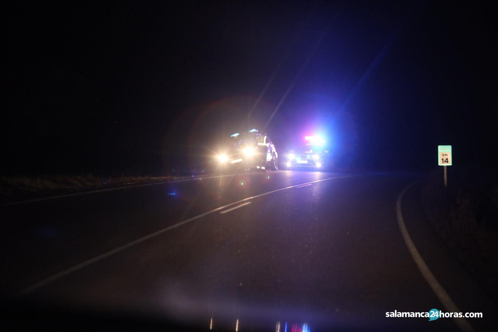 Guardia Civil carretera tamames