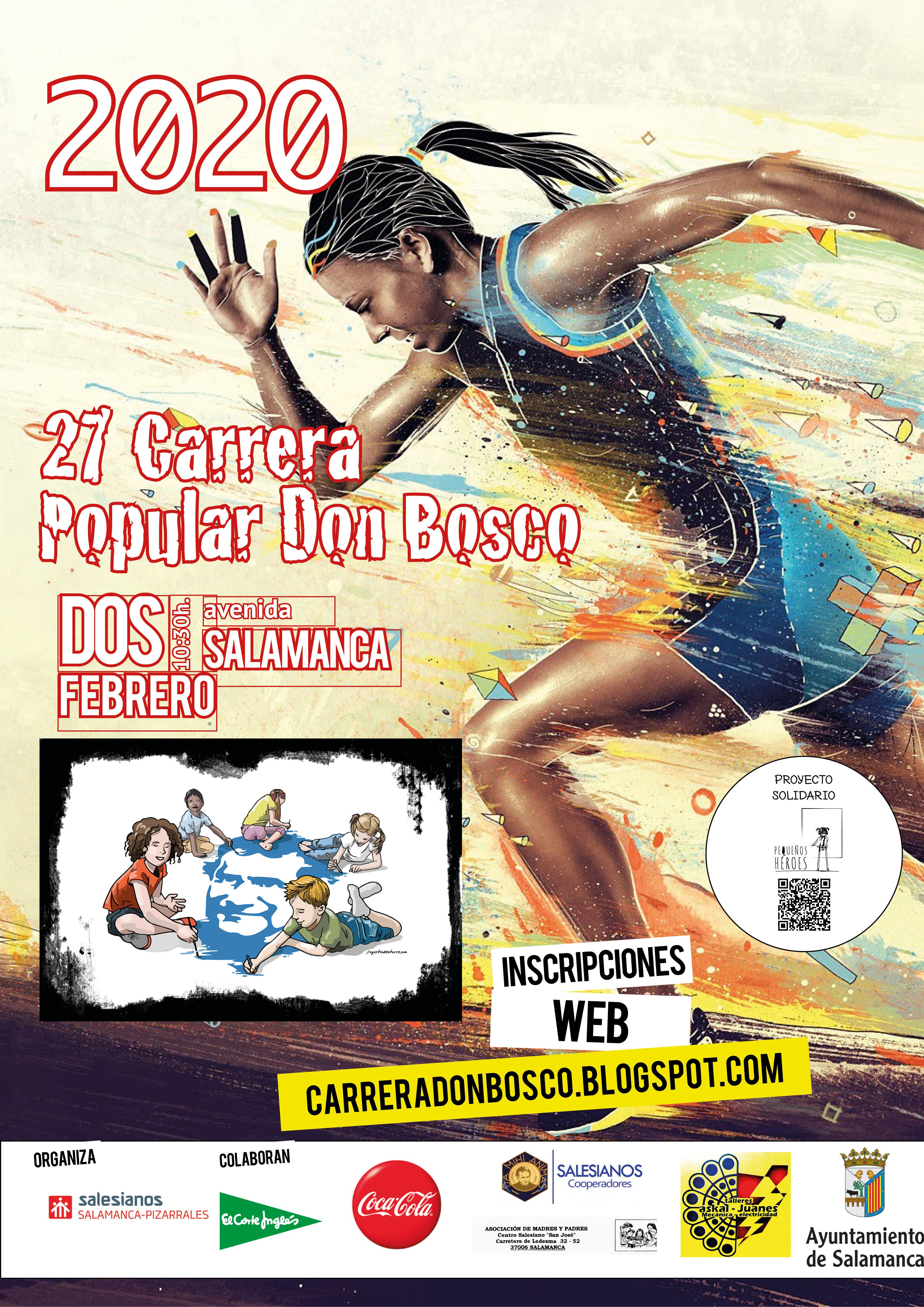 Cartel Carrera popular 2020