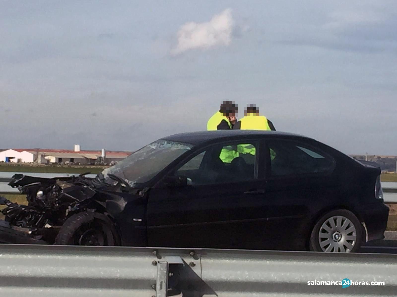 Accidente A 50 Pelabravo 2
