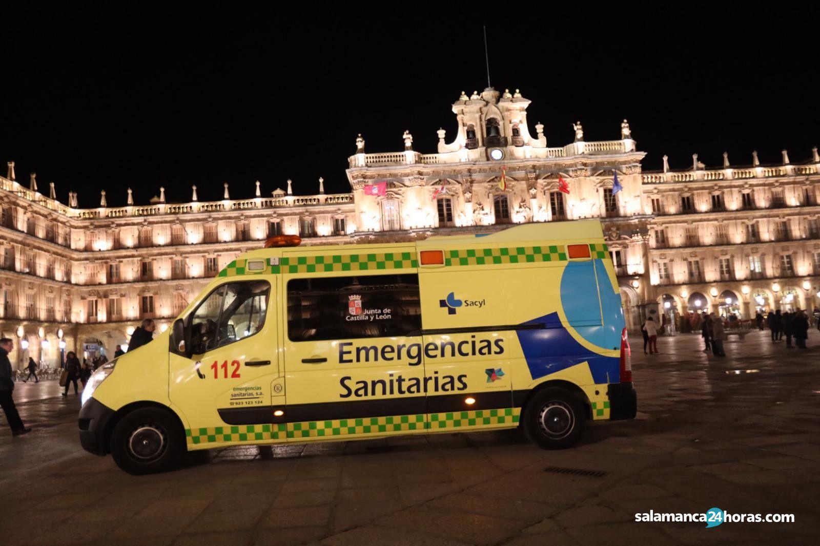 Ambulancia Plaza Mayor invierno (2)