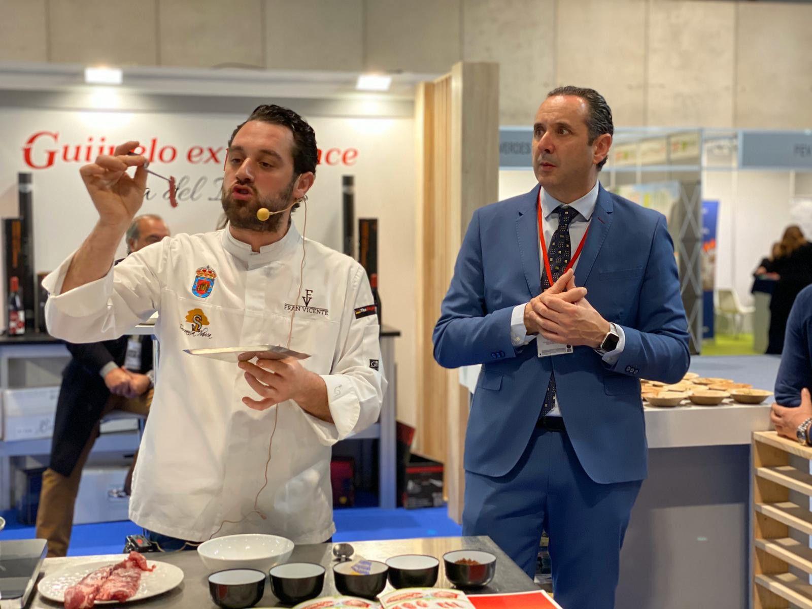El chef Fran Vicente