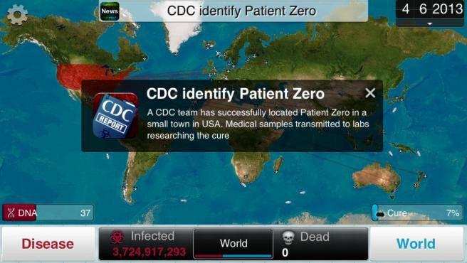 Videojuego pandemia