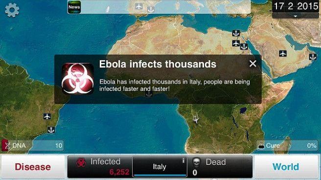 Videojuego ebola