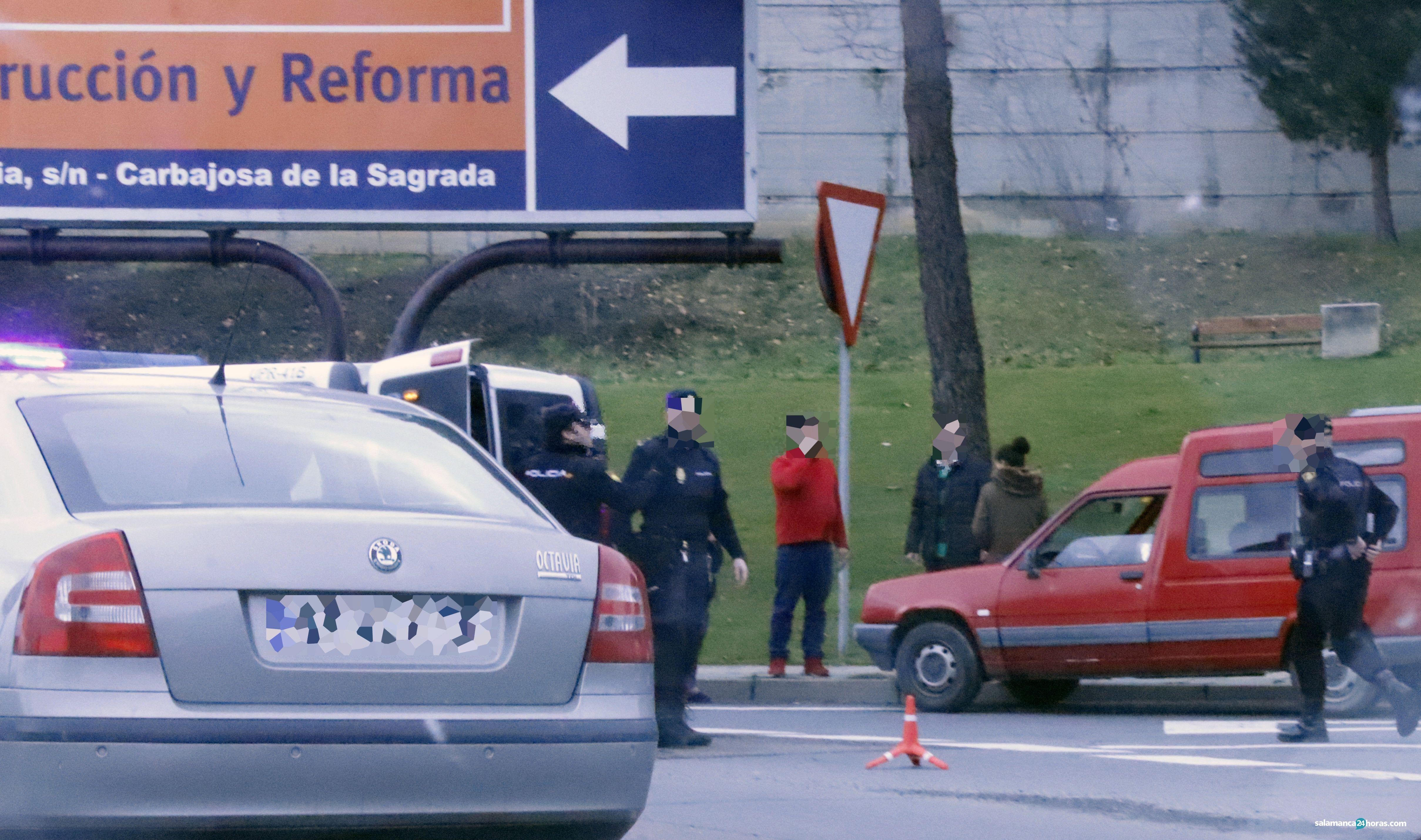 Policía Rotonda Arrabal