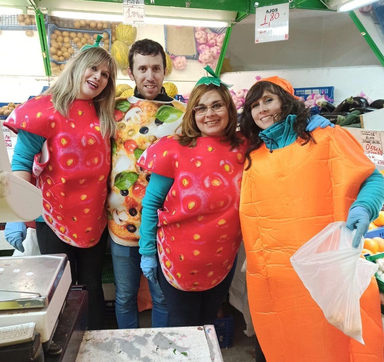 Disfrazados de fruta