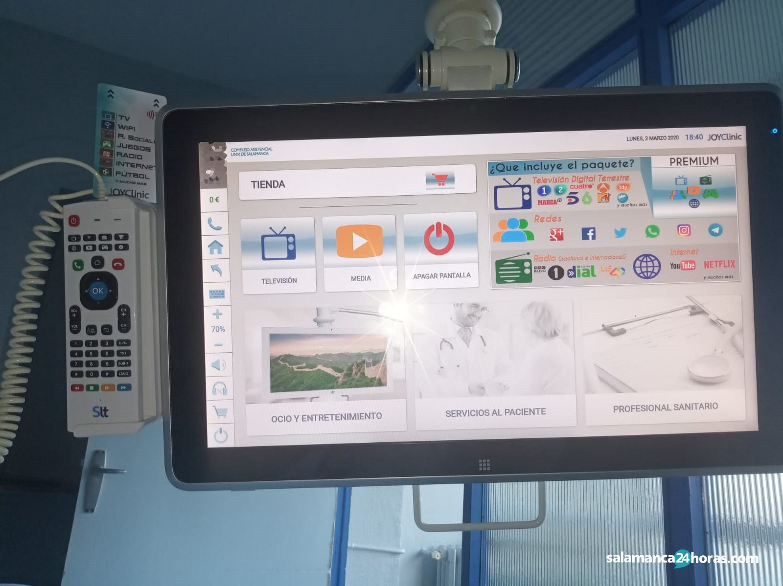 Televisores hospital (1)