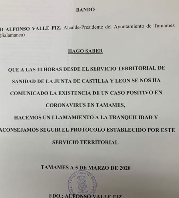 Bando alcalde
