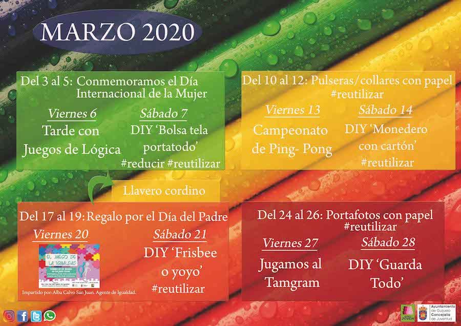 Agenda Marzo 2020