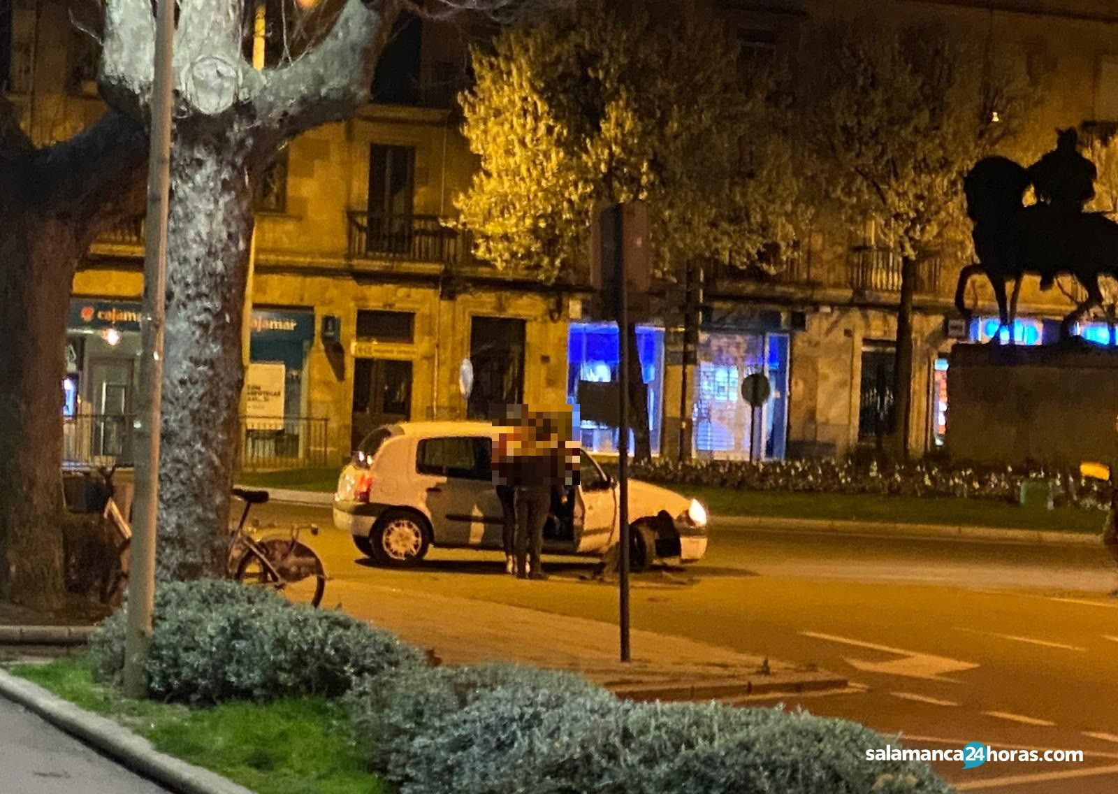 Accidente plaza de España (2)