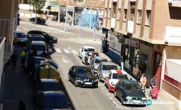 Accidente calle Elcano 2