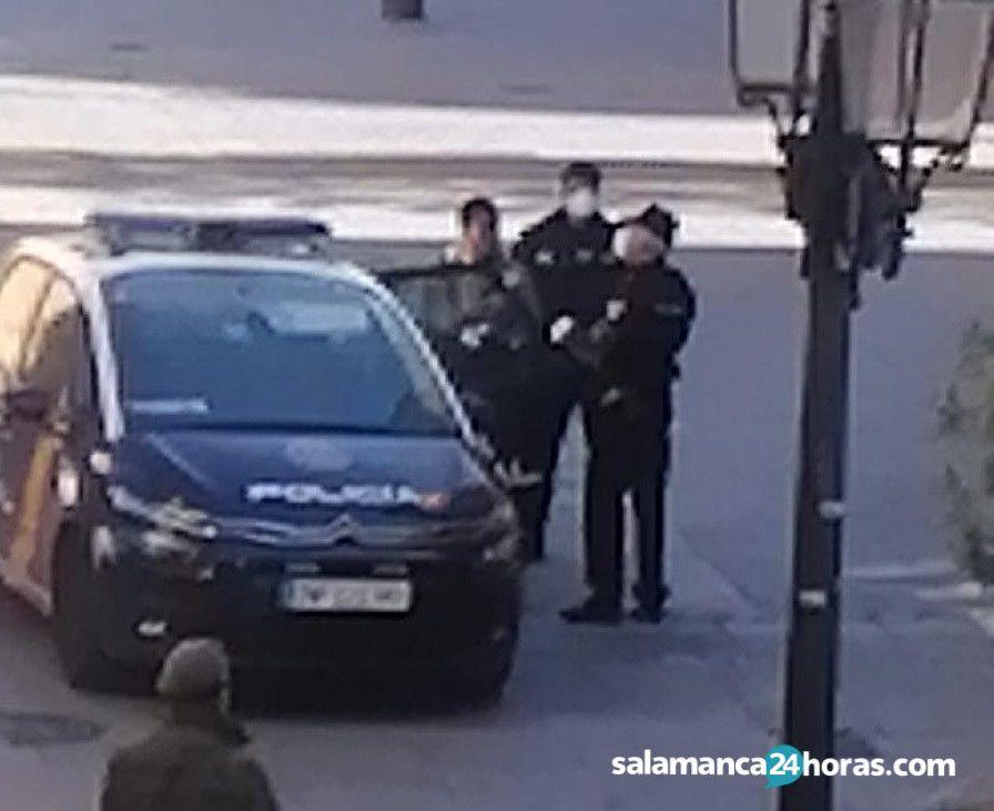 Detenido calle zamora (1)