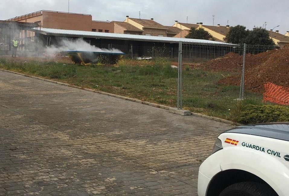 Incendio contenedor Carrascal Barregas (4)