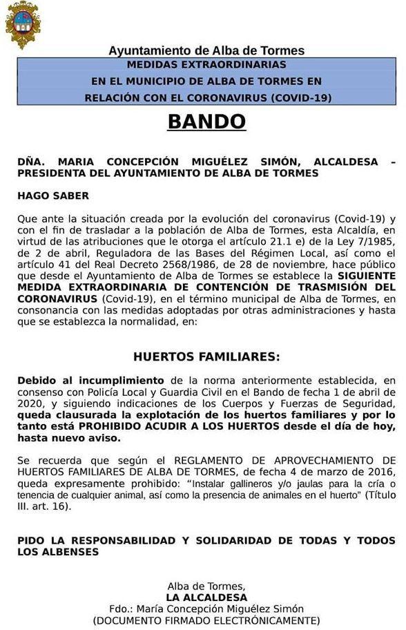 BANDO ALBA
